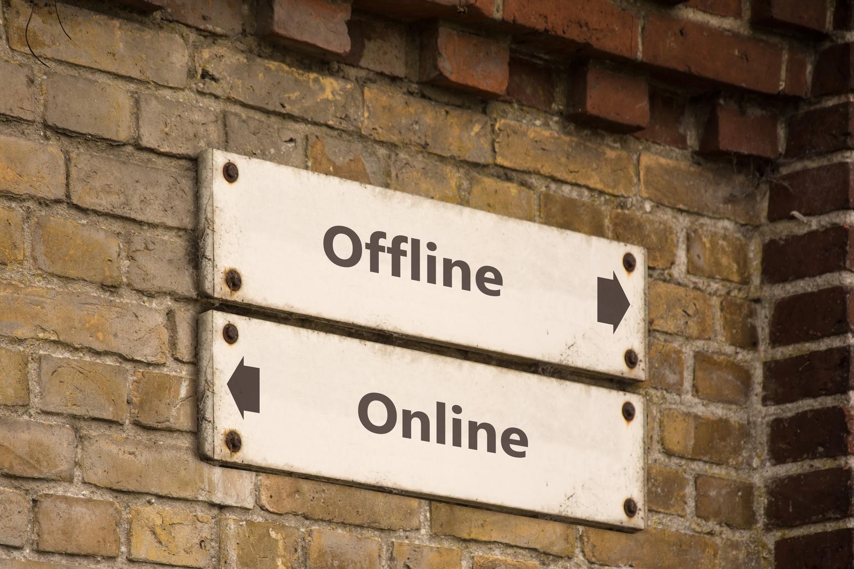 Schild 100 - Online
